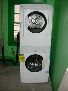 bought a washer and dryer